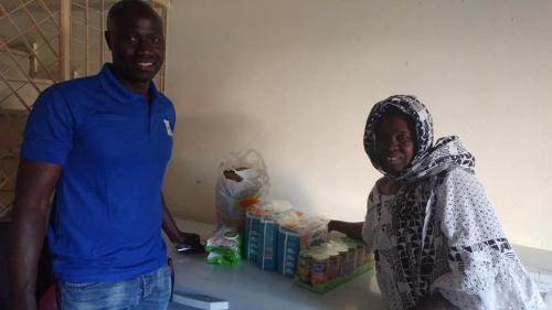 Colaboración con personas refugiadas